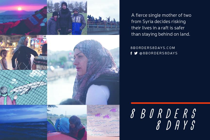 8 Borders 8 Days